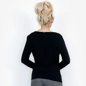 MICHAEL Michael Kors Tops - Michael Kors Long Sleeve Basic Black Shirt Top